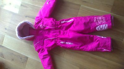Girls BARBIE Snowsuit size 2-3 years