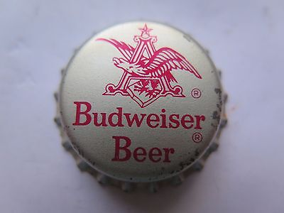 CROWN SEAL BOTTLE CAP BUDWEISER BEER UNUSED with ANHEUSER BUSCH Inc on the EDGE