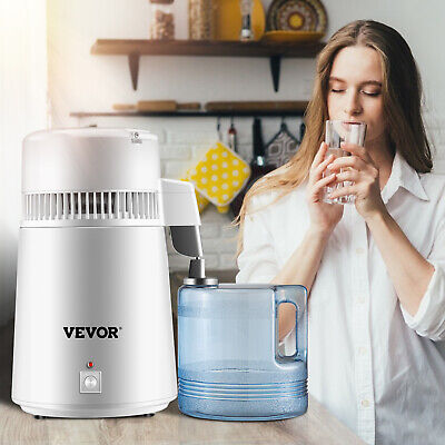 4L Pure Purifier Filter Water Distiller Dental Medical Hospital 750W CE