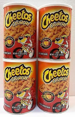 904154 4 x 120.4g TINS OF CHEETOS - DANGEROUSLY CHEESY! - USA