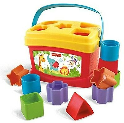 Baby Shaped Blocks Sorter Learning Toddler Identification Skills Interactive Toy