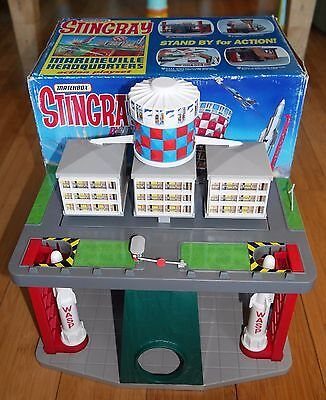 Vintage Matchbox Stingray Marineville Headquaters Action Playset 1992 Boxed Rare
