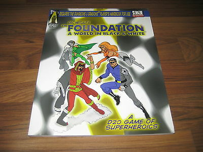 d20 The Foundation A World in Black & White Campaign Setting Nightshift Games