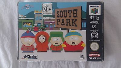 N64 Nintendo South Park Box, Manual, Poster + other goodies [NO GAME CARTRIDGE]