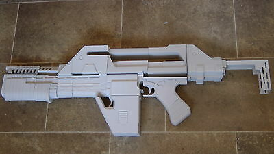 M41A PULSE RIFLE , ALIENS movie prop , MODEL KIT ONLY full size , 3D PRINTED