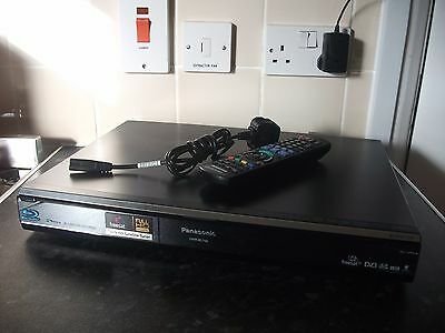 Panasonic DMR-BS750 Blu-Ray DVD Recorder with 250GB HDD - Twin Freesat+ HD Tuner