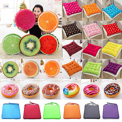 Soft Home Office Chair Back Toy Cushion Sofa Throw Pillow Garden Dining Seat Pad
