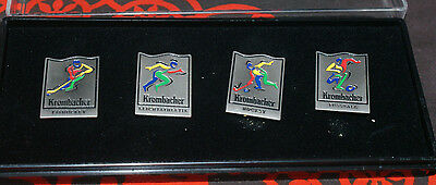 KROMBACHER Pin - Set 4 - teilig Olympiade im Case