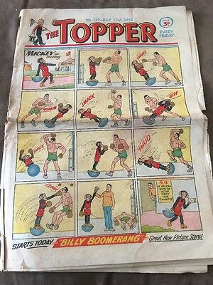 THE TOPPER Comic - Number 129 ~ 23rd July 1955