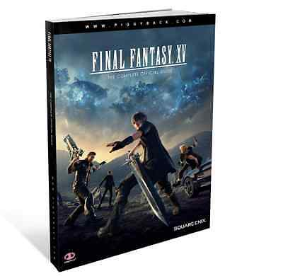 Final Fantasy XV - The Complete Official Guide - Brand New Paperback Book 2016
