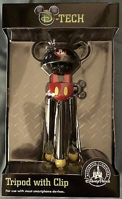 Disney Parks - D-Tech - Mickey Mouse Ears Cell Phone Tripod with Clip