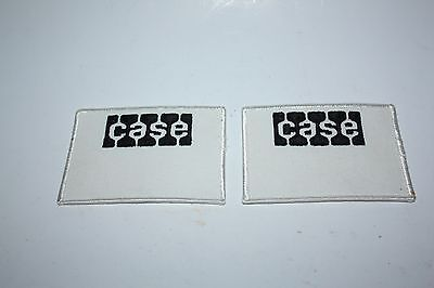 CASE Tractor Patches - Two (2)