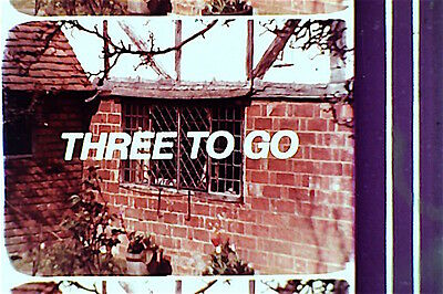 16mm FILM  - POST OFFICE  - THREE TO GO    - COLOUR   - SOUND  -  600FT
