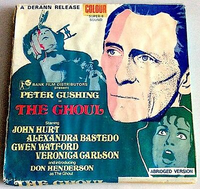 SUPER 8mm Film - THE GHOUL - PETER CUSHING  - 400FT  - COLOUR - SOUND