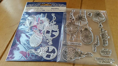 Tattered Lace Magic Of Christmas Winter Town Dies & Stamps Set (New)