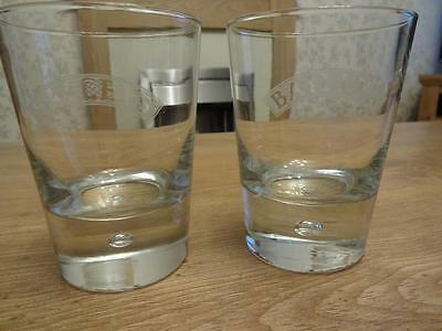 Pair of Baileys drinking glasses. Very good condition. 2 lovely glasses.