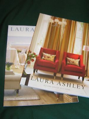 Vintage Laura Ashley Home Catalogue - Both Issues 2010