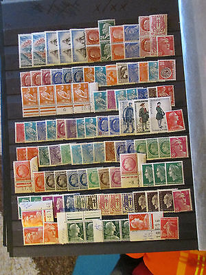 France Timbres Lot   Neuf X/xx