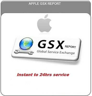 Apple Official iPhone Carrier Check SIM Lock Status ( GSX Report )