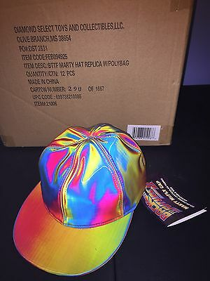 Diamond Select Back to the Future 2 Marty McFly replica hat color-changing tags