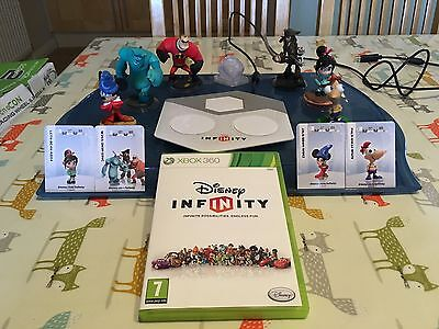 Disney Infinity Xbox 360 Bundle with 6x figures