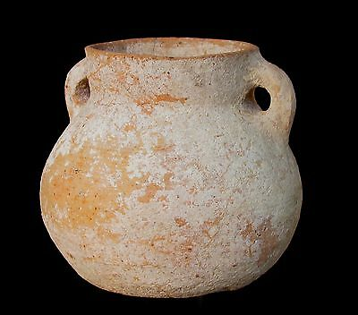 Canaanite Bronze Age pottery jar, 1850 BC p2576