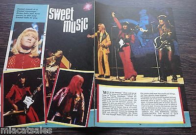 THE SWEET  - ARTICLE / PHOTO No 3 Good CONDITION! (Brian Connolly)