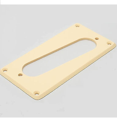 Plaque de Conversion Guitare Humbucker vers Micro Simple Single Coil Strat Crème