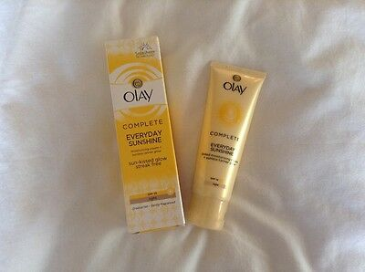 Olay SPF15 Complete Everyday Sunshine Cream with Sunless Tanner Light - 50 ml