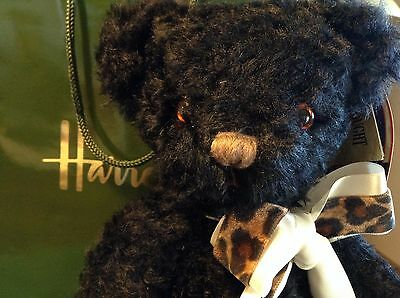 BNWT Merrythought Black Bear from Harrods