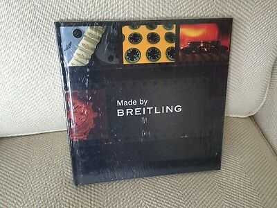 Made by Breitling Book-new in plastic