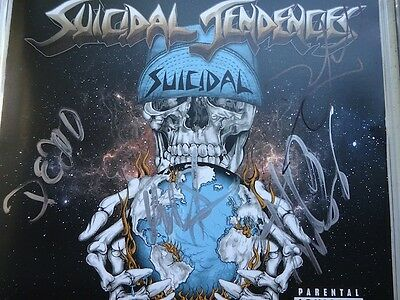 ** Suicidal Tendencies * Signed Autographed New Cd * Slayer * Dave Lombardo *