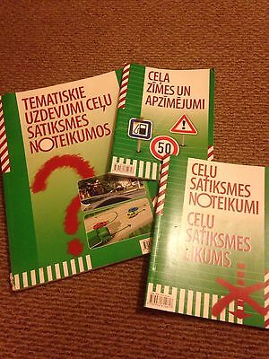 Driving Theory Question Learning Books In Latvian