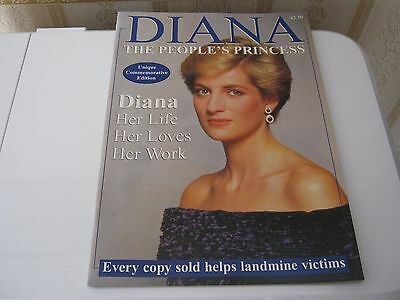 Diana The People's Princess Unique Commemorative Edition/Princess Diana (New)
