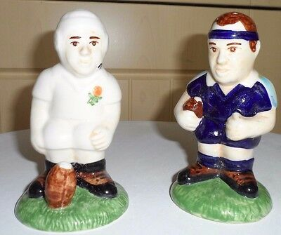 Cc Hp Novelty Salt And Pepper Pots - Rugby Players