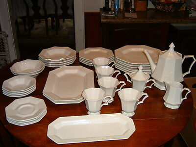 1776 Independence Ironstone Interpace Japan 38 Pieces Dishes