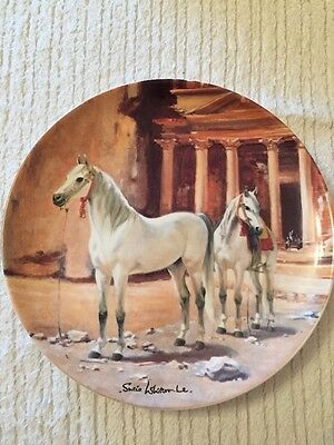 The Arabian By Susie Whitcombe Spode Collectors Plate 1988 Horse Ltd Edition