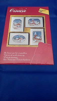Ornare lace card kit to make 4 cards