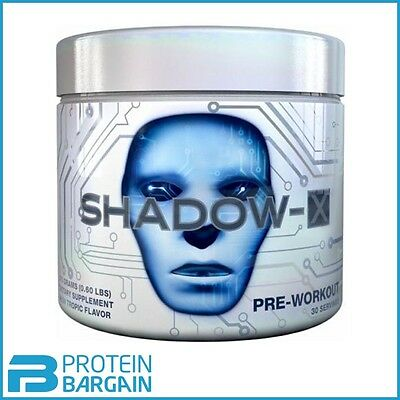 Cobra Labs Shadow X 270g ALL FLAVOURS! Strong Pre-Workout