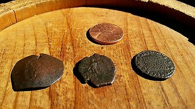 Lot of 3 Very Nice Ancient Roman Coins    No RESERVE.  #2