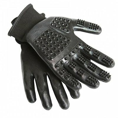 Hands On Grooming Gloves - Grooming / Massage Mitts for Horses or Dogs All Sizes