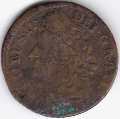 1690 James II Irish 1 Gun Money Small Shilling***Collectors***