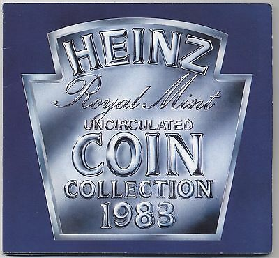 1983 Heinz Royal Mint Uncirculated Coin Collection***Collectors***