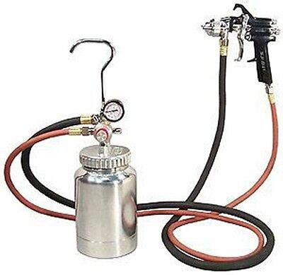 Air Paint Spray Gun with 2 Quart Pot Sprayer