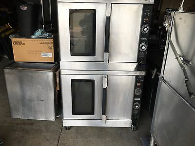 Hobart Double Stack Convection Oven Gas