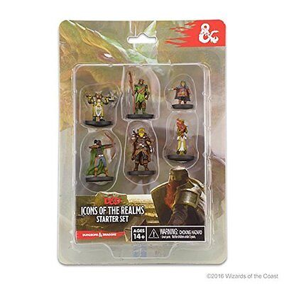 New - WizKids Dungeons & Dragons Icons of the Realms Starter Set, Q4 2016 Update