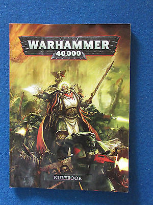 Warhammer 40,000 Rulebook - Games Workshop Publication