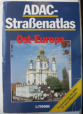 ADAC Atlas Ost-Europa 1993 - for collectors