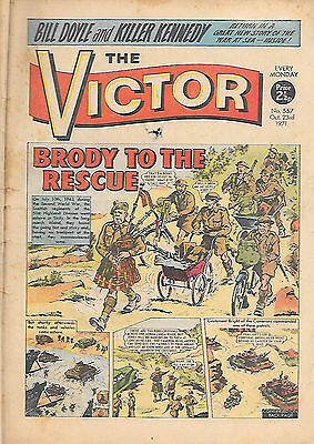 The Victor 557 (Oct 23 1971) mid-grade - over 500 scarce issues in our eBay shop