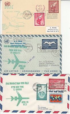 BOAC 3 First Flights from New York  1961 - 1965